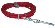 WIRE ROPE COMPLETE FIXING KIT-5M